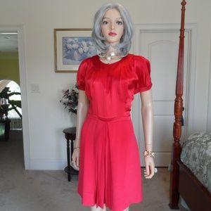 Marc By Marc Jacobs Crimson Red Sheath DressSize 8